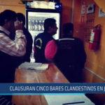 Chiclayo: Clausuran cinco bares clandestinos en JLO