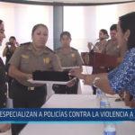 Chiclayo: Especializan a policías contra la violencia a la mujer
