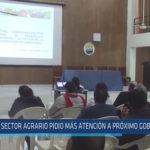 Chiclayo: Sector agrario pidio más atención a próximo gobernador