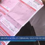 Chiclayo: Sin explicación les cobran mil soles por recibo de agua