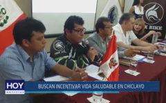 Chiclayo: Buscan incentivar vida saludable en Chiclayo