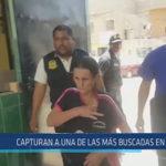 Chiclayo: Capturan a una de las más buscadas en JLO