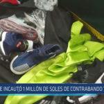 Chiclayo: Se incautó 1 millón de soles de contrabando y piratería