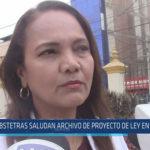 Chiclayo: Obstetras saludan archivo de proyecto de ley en su contra