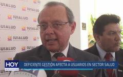 Chiclayo: Deficiente gestión afecta a usuarios en sector salud