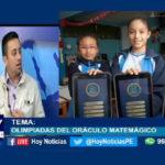 Chiclayo: Olimpiadas del oráculo matemágico.