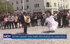 Chiclayo: Sector Turismo tiene pobre presupuesto en Lambayeque