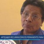 Chiclayo: Artesanos reclaman espacios permanentes para su trabajo