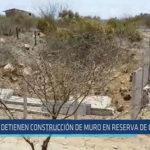 Chiclayo: Detienen construcción de muro en reserva de Chaparrí