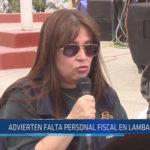 Chiclayo: Advierten falta personal fiscal en Lambayeque
