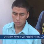 Chiclayo : Capturan a sujeto que asesinó a su ex cónyuge