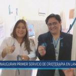 Chiclayo: Inauguran primer servicio de crioterapia en Lambayeque