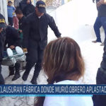 Chiclayo: Clausuran fábrica donde murió obrero aplastado por sal