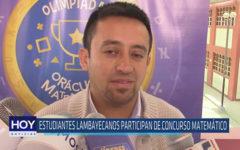 Chiclayo: Estudiantes lambayecanos participan de concursp matemático