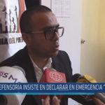 """Chiclayo: Defensoría insiste en declarar en emergencia """"Escuelin"""""""