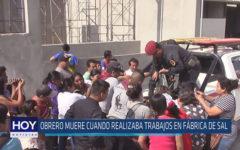 Chiclayo: Obrero muere cuando realizaba trabajos en fábrica de sal