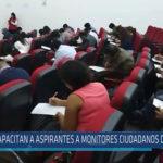 Chiclayo: Capacitan a aspirantes a monitores ciudadanos de control