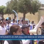 Chiclayo: Integrantes de ONPE realizan marcha de sensibilización