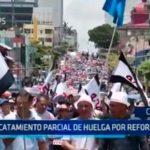 Costa Rica: Acatamiento parcial de huelga por reforma fiscal