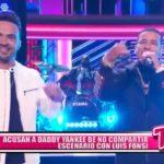 Acusan a Daddy Yankee de no compartir escenario con Luis Fonsi