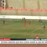 Sipirán asegura que solo queda ganar al Ada de Jaén