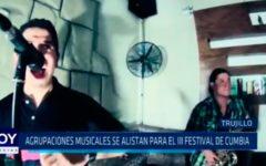Agrupaciones musicales se alistan para el II festival de cumbia