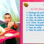 Rico y Baratito: Ají de gallina
