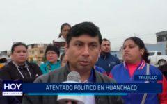 Atentado político en Huanchaco