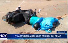 Los asesinan a balazos en Urb. Palermo