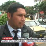 Balarezo espera responsabilidad dirigencial en tienda carlista