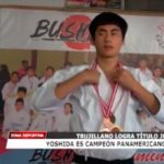 Yoshida es campeón Panamericano