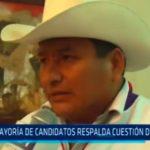 La Libertad: Mayoria de candidatos respalda cuestión de confianza