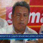La  Libertad: Candidatos de Súmate denuncian guerra sucia en su contra