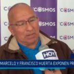 Daniel Marcelo y Francisco Huerta exponen propuestas