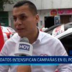 Candidatos intensifican campañas en El Porvenir