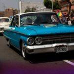 Recorrido del Club de Automóvil antiguo del Perú