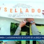 Colombia: Clausuran museo de excapo de la droga Pablo Escobar