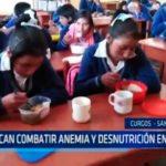 La Libertad: Buscan combatir anemia y desnutrición en niños