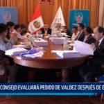 La Libertad: Consejo evaluará pedido de Valdez después de elecciones
