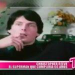 Christopher Reeve el superman que cumpliria 66 años