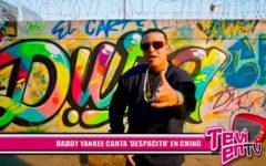 """Daddy Yankee canta """"despacito"""" en chino"""