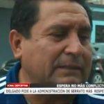 Delgado pide a la administración de Serrato más respeto