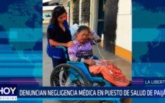 La Libertad: Denuncian negligencia médica en puesto de salud de Paiján
