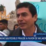 Denuncian posible fraude a favor de Wilmer Sánchez