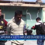 Chiclayo: Capturan a sujeto implicado en robo de galería