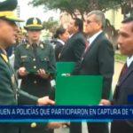 "Distinguen a policías que participaron en captura de ""Gringasho"""