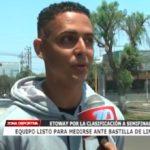 Equipo listo para medirse ante Bastilla de Lima