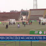 Chiclayo: Piden construcción de más canchas de futbol en Chiclayo