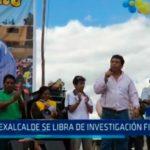 Ex Alcalde se libra de investigación fiscal