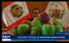La Libertad: Alistan I festival de manzana parraposina
